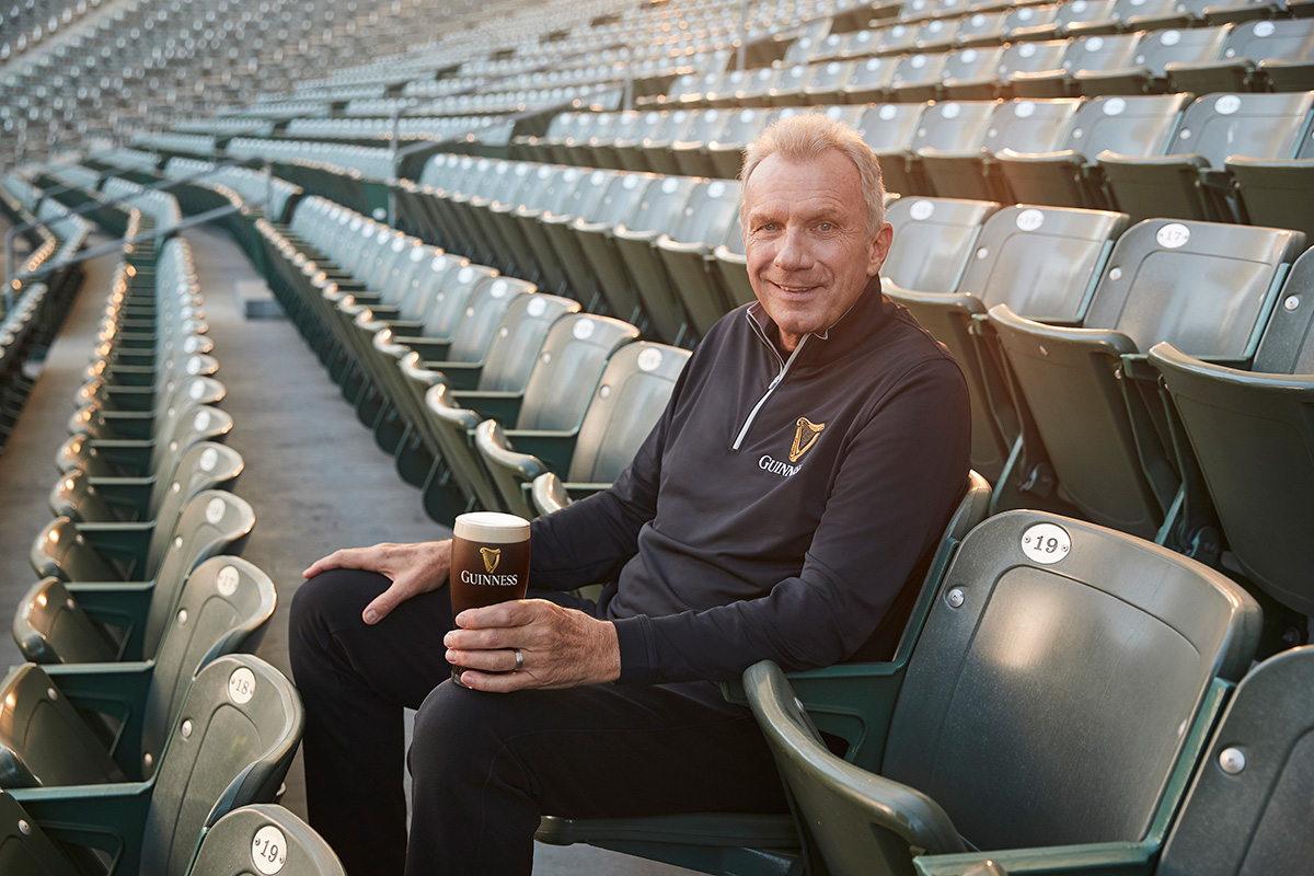 Guinness and Joe Montana team up for Big Game Ad