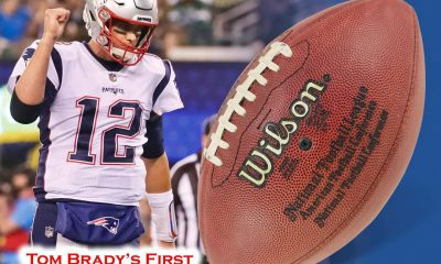 Tom Brady football auction